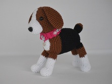 "Crochet Pattern ""Your friend the dog Amigo"""