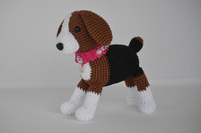 Hund häkeln // Tiere häkeln // Amigurumi