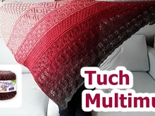 "Tuch ""Multimus"" mit 1 Bobbel-Cotton XTRA von Woolly Hugs stricken"
