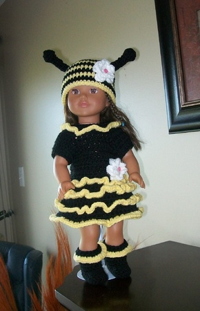 18 Inch doll clothes pattern