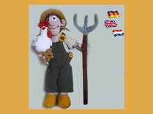 Farmer Joe and his girl