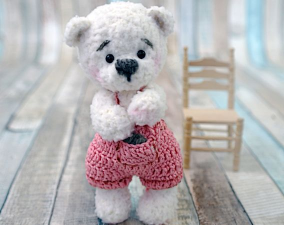 Gratis Häkelanleitung Bär