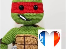 Ninja Turtle Raphael - French