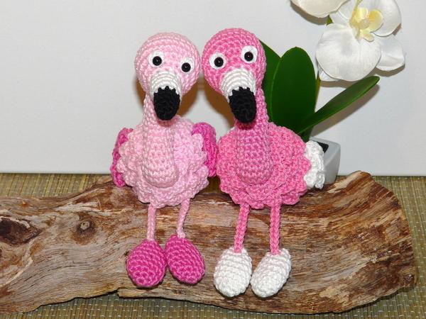 Flamingo Häkeln Süß Auch Zu Zweit Diy
