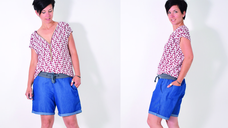 eBOOK # 117 SHORTY.hose Unisex Gr.32-58/XS-XXXL