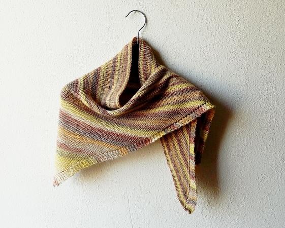 Beginner Shawl Knitting Pattern