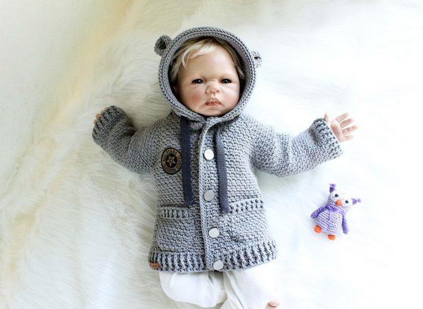 Baby Jacke Häkeln Kinder Jacke Raglan