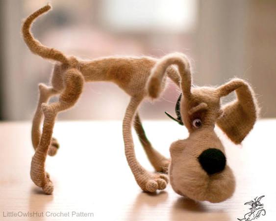 DIY Crochet Amigurumi Puppy Dog Stuffed Toy Free Patterns | Crochê ... | 450x563