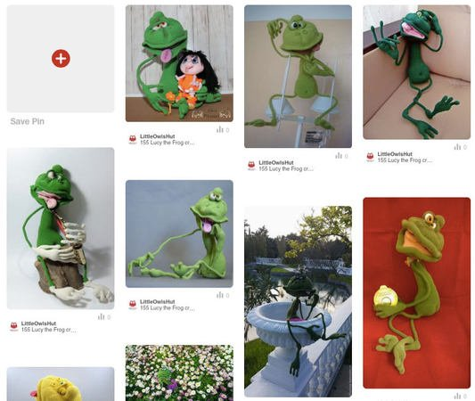 155 Crochet Pattern - Lucy the Frog - Amigurumi soft toy PDF file by Pertseva CP