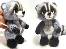 149 Crochet Pattern - Raccoon - Amigurumi soft toy PDF file by Ogol CP