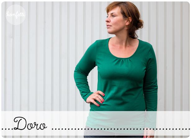 e8b748d8db Doro Gr. 34-50 Damenshirt Sommershirt Basic-Shirt