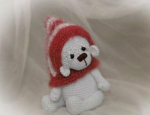 Eisbär Häkeln Mit Mütze Scoodie