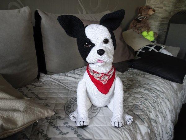Hund Häkeln Bulldogge Häkeln Diy Tiere