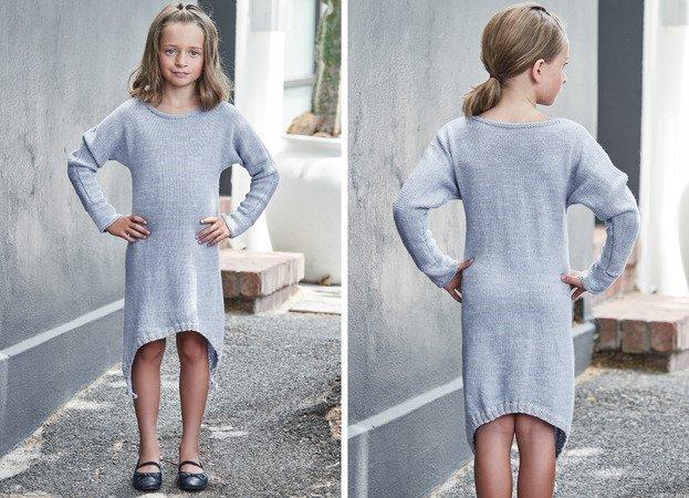 Strickanleitung Kleid Mayvi