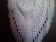Granny Shawl with Fringes