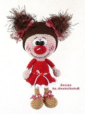 Dolls -- Crochet Pattern by Haekelkeks®