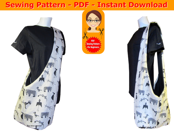 Sewing pattern cross body bag - pdf - instant download - for beginners