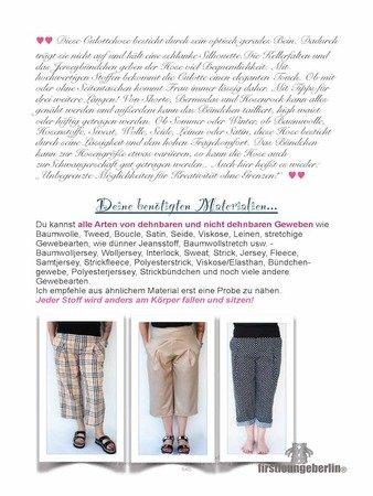 Culotte Damenhose Kellerfalten Hose - in 9 Größen 30/32 bis 56/58 ...