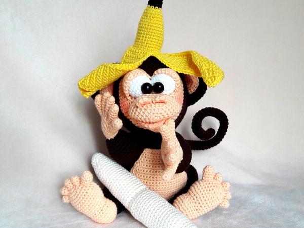 Happy Monkey | Crochet monkey, Crochet monkey pattern, Monkey pattern | 450x600