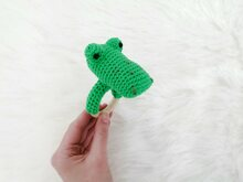 Crocodile Rattle - Crochet Pattern