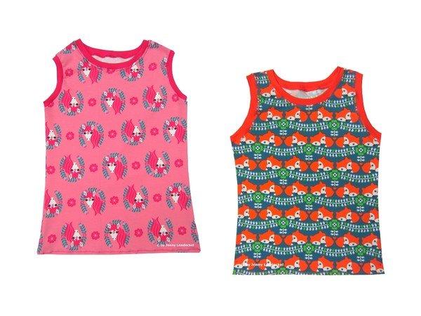 Kinder & Baby Tank Top - Kindershirt - Babyshirt - Schnittmuster ...