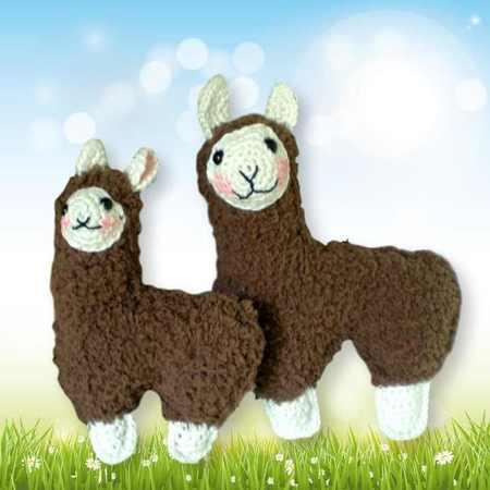 Mini Amigurumi Llama - A Free Crochet Pattern | Crochet patterns ... | 450x450