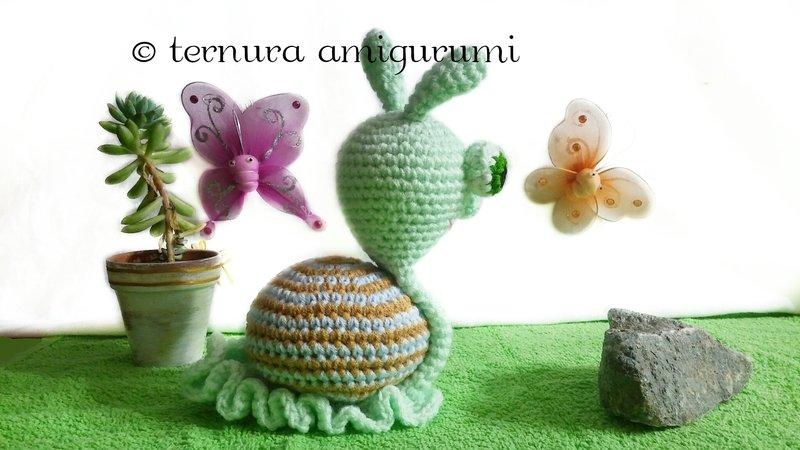 Shelley the Snail and Family, Amigurumi Crochet Pattern.   Crochet ...   450x800