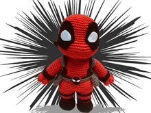 Deadpool Pattern Amigurumi