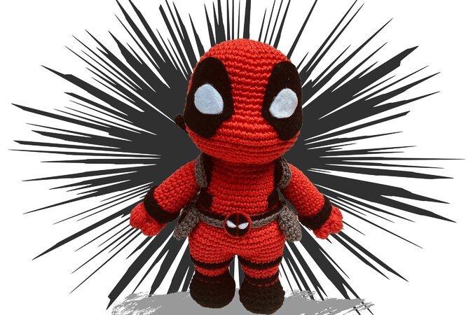 Ravelry: Deadpool Amigurumi pattern by Sheridan Amb | 450x675
