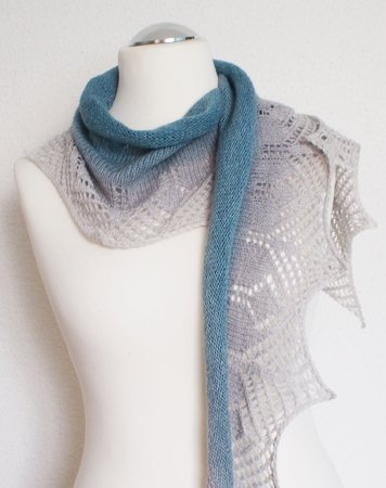 Simply - Easy shawlette for beginners