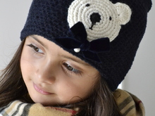 ❤ Kinder Beanie Softy Teddy Häkelanleitung ❤