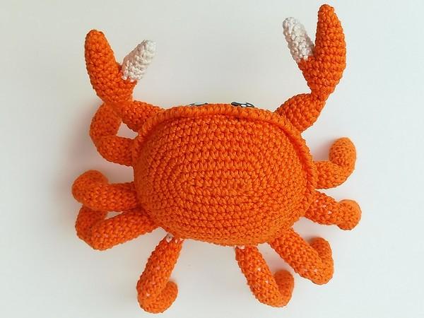 Krabbe Häkeln Beeindruckende Scheren