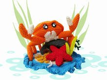 Under the Sea - Karl Crab - Crochet pattern