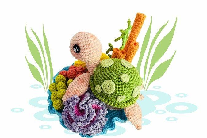 Loch Ness monster sea dragon crocheted monster amigurumi | Etsy | 450x675