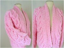 Strickanleitung  - Jacke - Cable Cardigan - No.197