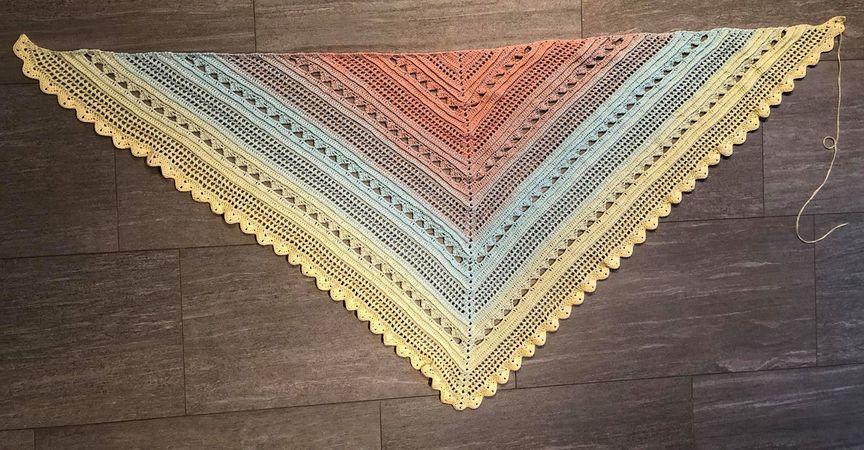 Dreieckstuch häkeln / super für Anfänger