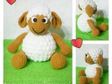 Haakpatroon van schapen PDF english-deutsch-dutch ternura amigurumi