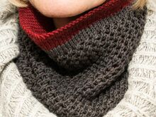 "Strickanleitung Loop Rundschal ""Gelting Cowl"""