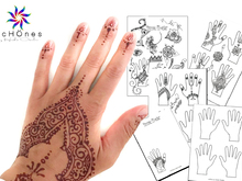Henna-Tattoo, temporäre Tattoo, bodypainting (Vorlagen)
