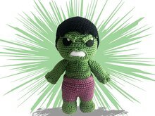 Hulk Häkelanleitung Amigurumi PDF Deutsch - English