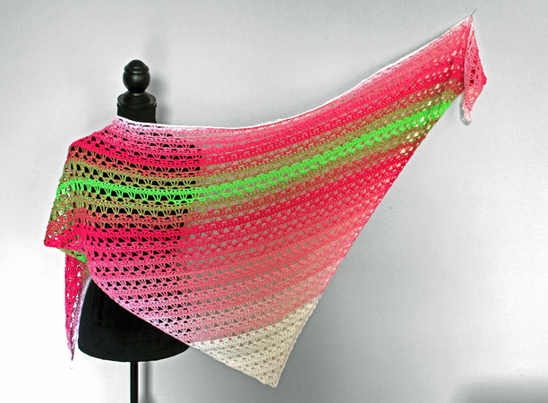 "Crochet Pattern: Shawl ""Lily"""