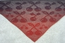 "Triangular Shawl ""Sweet Cherries"""