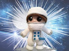 Astronaut Pattern Amigurumi PDF Deutsch - English