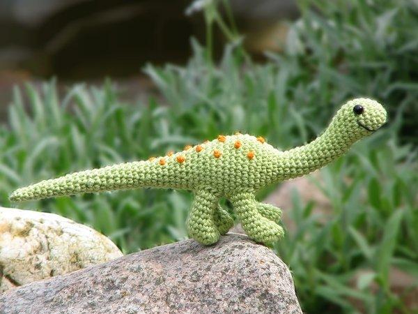 Süße Gestrickt Dinosaurier Puppe Amigurumi Spielzeug Stockfoto und ... | 450x600