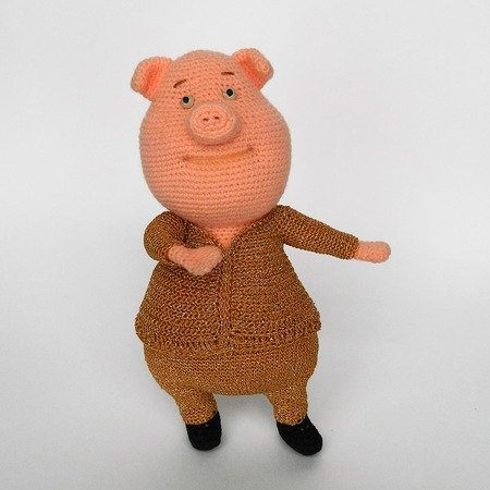 PIGLET | HOW TO CROCHET | AMIGURUMI TUTORIAL - YouTube | 450x450