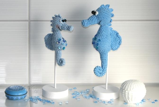 Amigurumi Seepferdchen häkeln   Selbstgemachte geschenke kinder ...   450x672