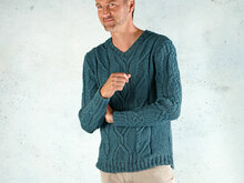 "Strickanleitung Herrenpullover ""Sporty"" 759081"