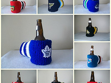 Crochet Beverage Beer Mitt Pattern