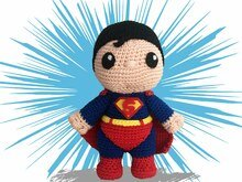 Superhero Pattern Amigurumi PDF Deutsch - English