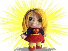Supergirl Pattern Amigurumi PDF Deutsch - English